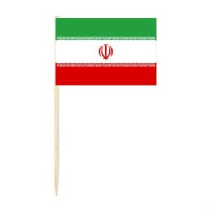 Iran Country Flag Cocktail Sticks (pack of 10)
